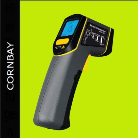 infrarot thermometer temperaturmessung laser infrarotthermometer ebay. Black Bedroom Furniture Sets. Home Design Ideas